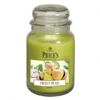 Price's Candles Large Jar - Sweet Pear
